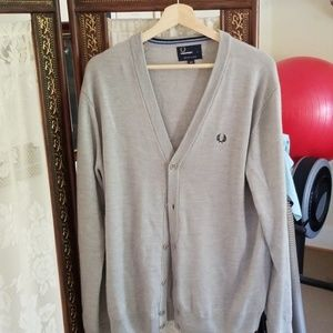 Fred Perry cardigan sweater